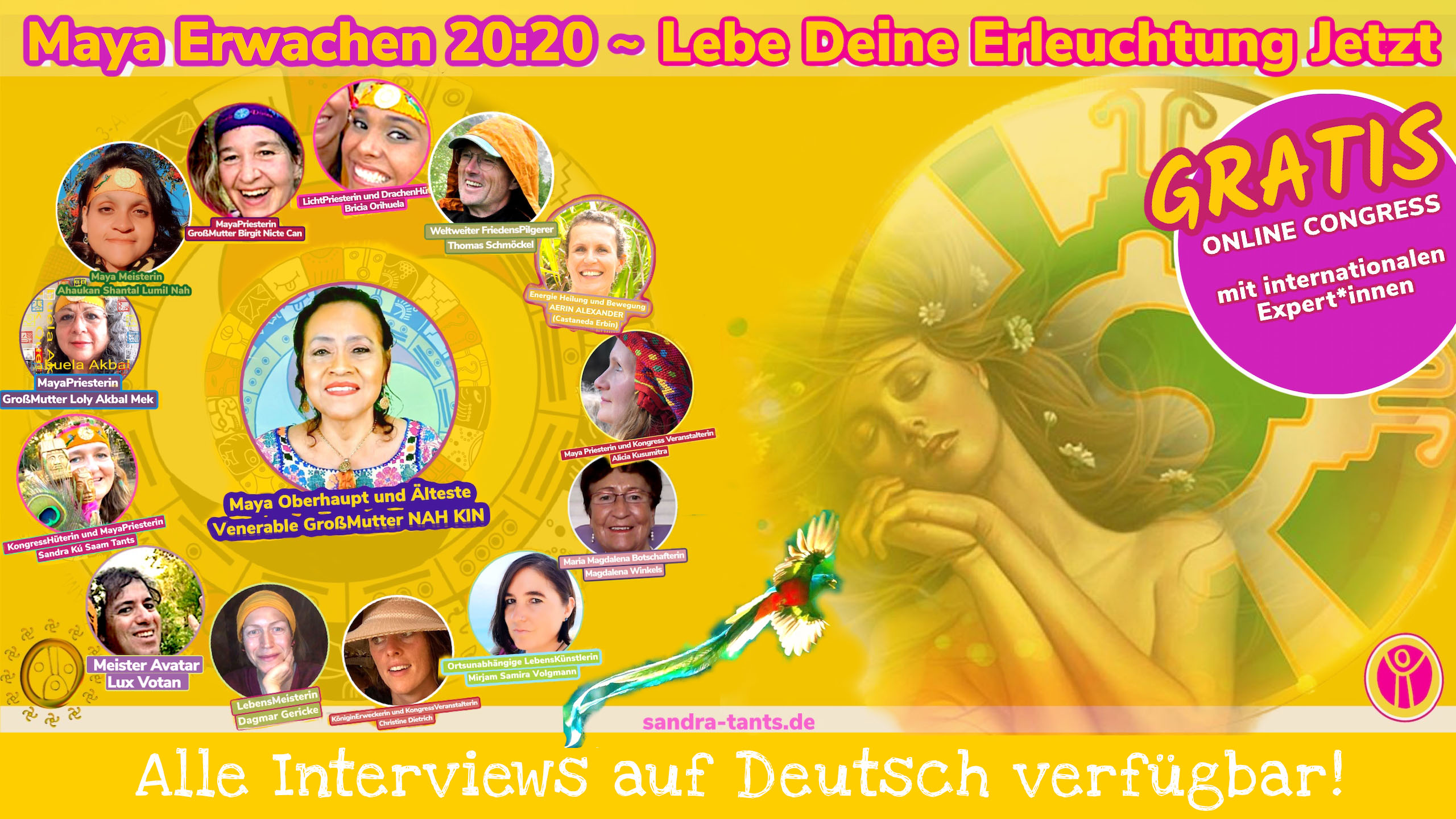 Kongress-Header MayaErwachen2020-Kongress